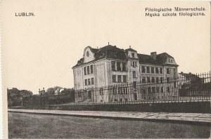 LUBLIN. Lublin. Filologische Männerschule, Męska Szkoła Filologiczna, wyd