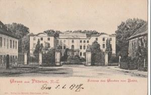 BRODY. Gruss aus Pförten. Schloss des Grafen von Brühl; wyd