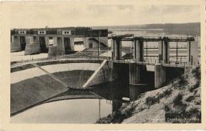 CIESZÓW. Stauwehr, Zeschau-Kriebau, wyd. Foto- Verlag, Fritz Tuttass, Naumburg