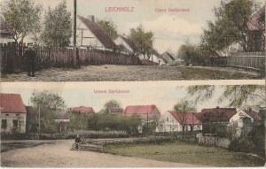 DRZEWCE. Leichholz, Obere Dorfstrasse, Untere Dorfstrasse, wyd