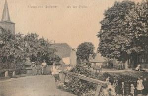 GÓRKI NOTECKIE. Gruss aus Gurkow, an der Pulze, wyd. ok. 1910; cz.-b., stan db