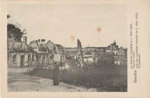 GORLICE. Gorlice po inwazyi rosyjskiej w r. 1914-1915. Ogólny widok.