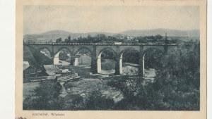 GRYBÓW. GRYBÓW. Wiadukt, wyd. M. Kumorkiewicz, Grybów, ok. 1931; cz.-b.