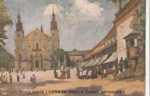 KALWARIA ZEBRZYDOWSKA. Główny kościół i kaplica św