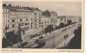WARSZAWA. Warszawa. Aleje 3-go Maja / Varsovie. Avenue du Trois Mai