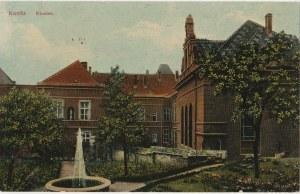 CHOJNICE. Konitz / Kloster, wyd. Kunst- und Verlagsanstalt, ok. 1919; kolor.