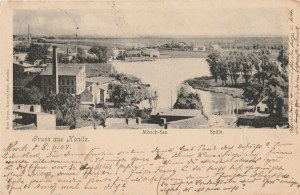 CHOJNICE. Gruss aus Konitz, wyd. Max Heyn, Kunstanstalt, Konitz, ok. 1904; cz.