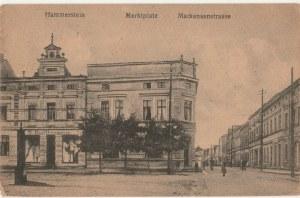 CZARNE. Hammerstein / Marktplatz / Mackensenstrasse, wyd. ok. 1918; cz.-b.
