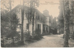 CZARNE. Hammerstein / Restaurant i. Birkenwäldchen, wyd. Anst. G.m.b.H.