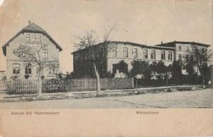 CZARNE. Schule Adl Hammerstein / Waisenhaus, wyd. Franz Döring's Wwe