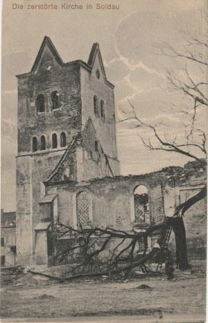 DZIAŁDOWO. Die zerstörte Kirche in Soldau, wyd. Hermann Kadach, Königsberg, ok