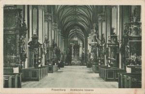 FROMBORK. Frauenburg / Domkirche Inneres, wyd. Andr. Thater, Dom-Frgb., Ostpr.