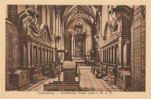 FROMBORK. Frauenburg-Domkirche, hoher Chor v. W. n. O., wyd. Andr. Thater, Dom