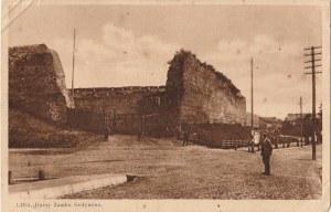 LIDA. Lida - Ruiny Zamku Gedymina, wyd. ok. 1923; cz.-b., stan sł.