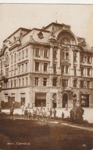 CZERNIOWCE. 2513-Cernăuţi, wyd. Agentia Romana Hachette, Bucuresti, ok. 1932