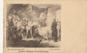 SOKOŁÓWKA. Reprodukcja obrazu Juliusza Kossaka: Śmierć Stefana Czarnieckiego