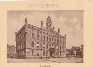 EUROPA. Das Rathaus; wykon. przed 1914; cz.-b., stan db