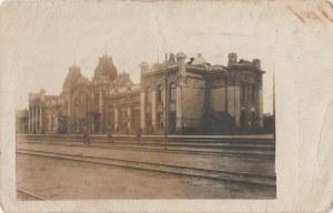 EUROPA. Dworzec kolejowy, wyd. ok. 1918; cz.-b., stan db