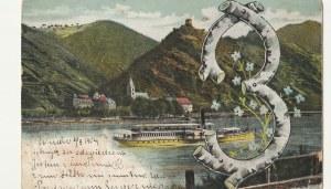 EUROPA. Krajobraz, wyd. ok. 1904; kolor., stan sł., na dole odręczny dopisek