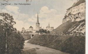 TALLINN. Reval / Der Palkuligraben, wyd. przed 1918; kolor., stan sł.