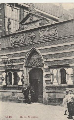 LEJDA. Leiden / H.G.Weeshuis, wyd. J.H.Schaefer, Amsterdam, przed 1939; cz.-b.