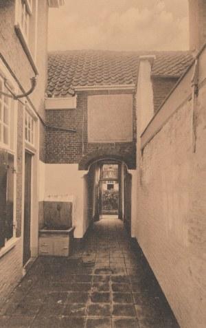 LEJDA. LEIDEN / Samuel de Zee-hofie - Doezastraat, wyd. przed 1939; cz.-b.