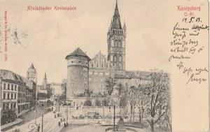 KRÓLEWIEC, KALININGRAD. Altstädtischer Kirchenplatz / Königsberg O. -Pr., wyd