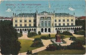 KRÓLEWIEC, KALININGRAD. Königsberg i. Pr. / Kgl. Albertus-Universität, wyd. L