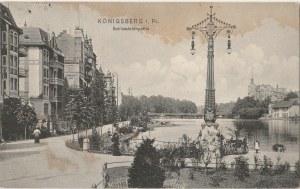 KRÓLEWIEC, KALININGRAD. Königsberg i. Pr. / Schlossteichpartie, wyd. R. E. W. K