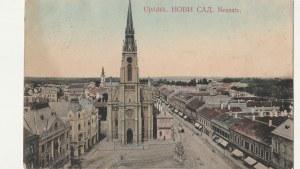 NOWY SAD. Ujvidék. НОВИ САД. Neusatz., wyd. ok. 1911; kolor., stan sł.