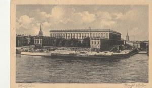 SZTOKHOLM. Stockholm / Kungl. Mollet, wyd. Arvid L. Junggrens Konstförlag