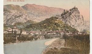 ARCO. 3733 Arco mit Sarca, wyd. Photoglob, Zurych, ok. 1911; kolor., stan dobry