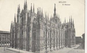 MEDIOLAN. MILANO / Il Duomo, wyd. przed 1939; cz.-b., stan db, zagięty prawy