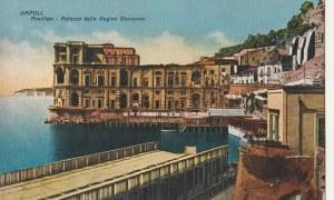 NEAPOL. NAPOLI / Posillipo - Palazza della Regina Giovanna, wyd. Ditta R.