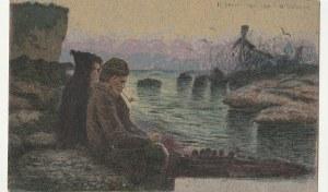 PESCARA. CARTE POSTALE (napis na verso), wyd. przed 1939; kolor., stan db