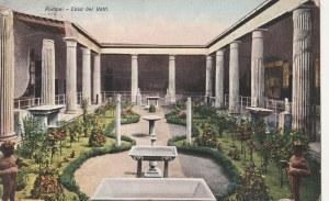 POMPEJE. Pompei - Casa dei Vetti., wyd. ok. 1925; kolor., stan db