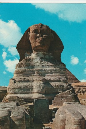 KAIR. Giza: The Sphinx, wyd. Photo and copy rights reserved F. H. Gabra, ok