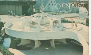 MONTREAL. EXPO67, wyd. ok. 1967; kolor., stan db, bez obiegu