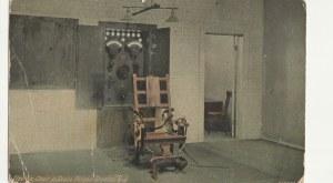 TRENTON. Electrics Chair la State Prison: Trenton, wyd. Trenton, przed 1939