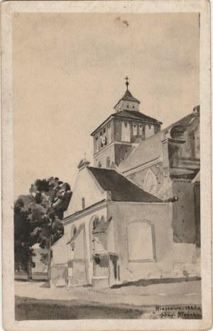 NIESZAWA. Nieszawa z akwareli Stanisława Błońskiego, fot. cz.–b., wykon. 1924