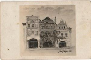 WŁOCŁAWEK. Stan. Błoński, fot. cz.-b., wykon. 1927; stan sł., opis na verso