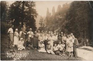 CZORSZTYN. Trzy Korony, fot. cz.-b., wykon. ok. 1934; stan db
