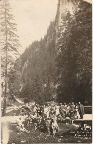 KOŚCIELISKO. Dolina fot. cz.-b., wykon. ok. 1934; stan db