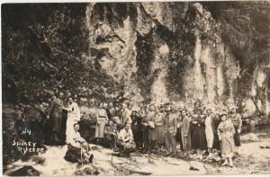 KOŚCIELISKO. Śpiący Rycerz, fot. cz.-b., wykon. ok. 1934; stan db