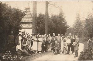KOŚCIELISKO. Kaplica Zbójnicka, fot. cz.-b., wykon. ok. 1934; stan db