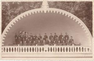 BUSKO-ZDRÓJ. Orkiestra, fot. cz.-b., wykon. ok. 1924; stan db, nierówne brzegi