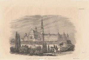 CZĘSTOCHOWA. Widok klasztoru w Częstochowie, druk. Leclere (sygn