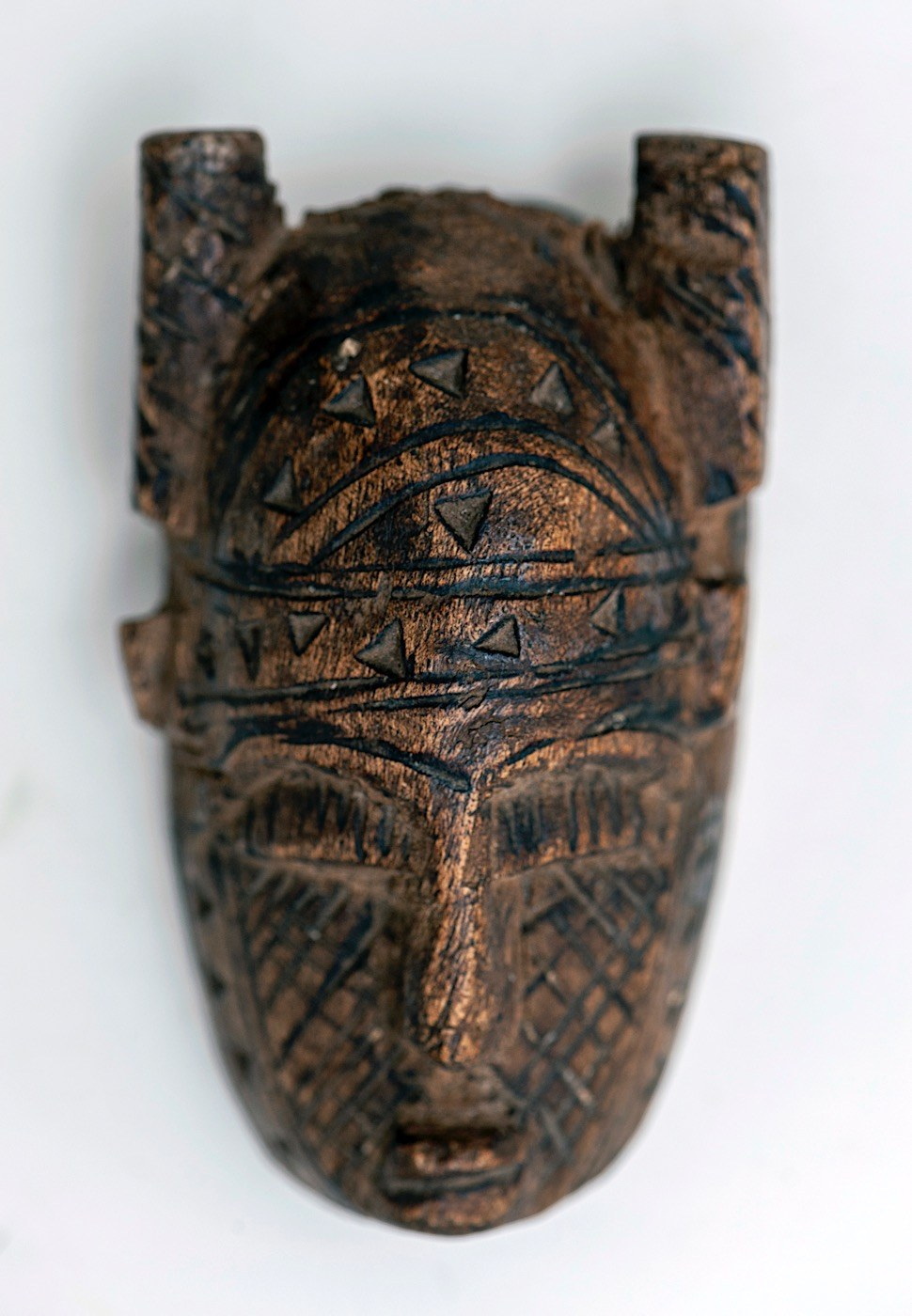 Maska mała, MALINKE, Gwinea, Afryka