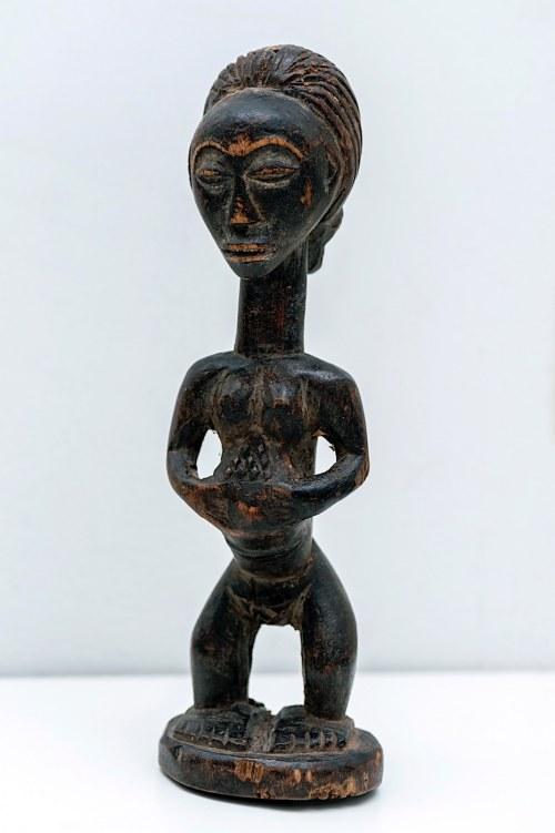 Figurka brzemiennej, plemię LUBA, Kongo, Afryka
