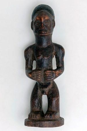 Figurka mężczyzny, plemię CHOKWE, Kongo, Afryka